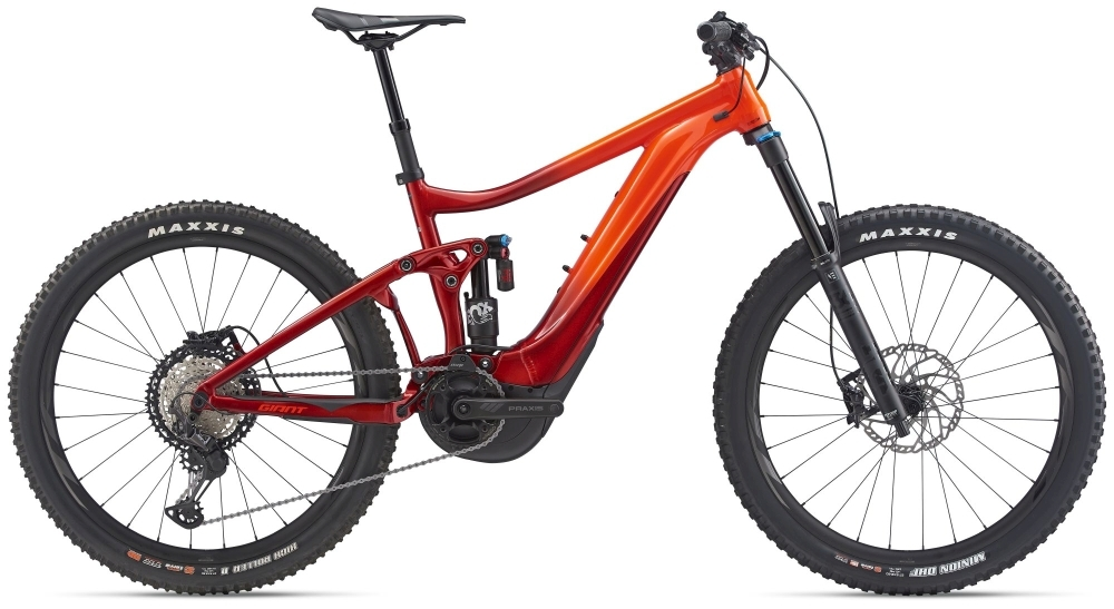 GIANT Reign E+ 1 (2020) S neon red / metallic red