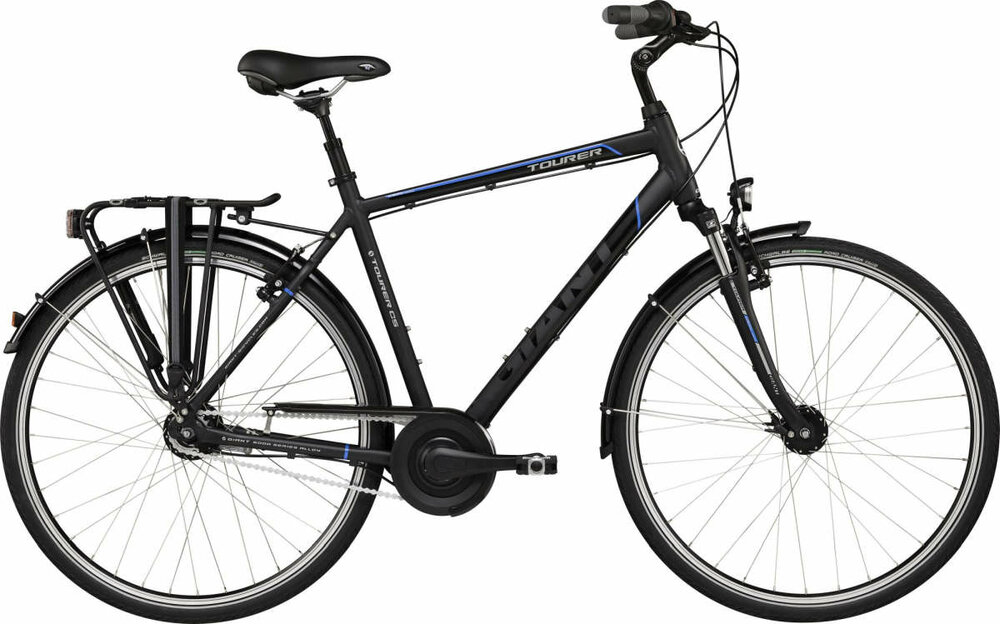 GIANT Tourer GTS L charcoal black matt-gloss