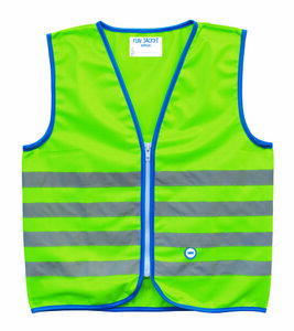WOWOW Reflexweste Fun Jacket for Kids grün | Kinder | Größe: S