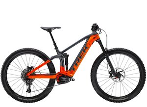 Trek Rail 9.7 XL Solid Charcoal/Radioactive Orange